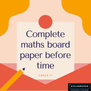 Complete Maths Paper Before Time