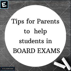 scoring good marks in board exams