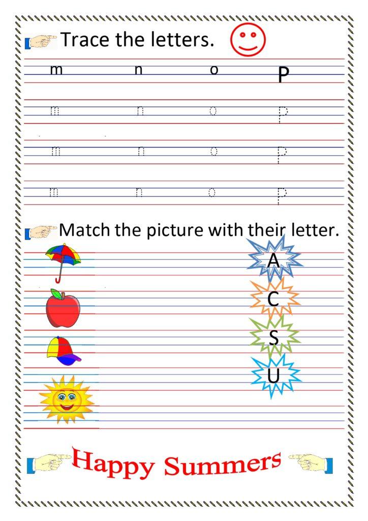 Lkg Worksheets English