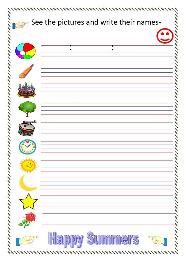 UKG Worksheets English